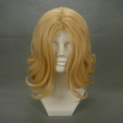 41cm Wavy Blonde Cosplay Wig -- Axis Powers France