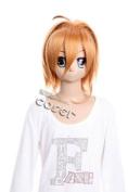 CosplayerWorld Tsubasa Reservoir Chronicle Sakura Wig 37cm 15inch Cosplay Wig Fashion Girls and Boys Anime Wig Party Wigs Shipping Free