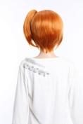 Cosplay long orange wig of Dynasty Warriors hair blonde wig
