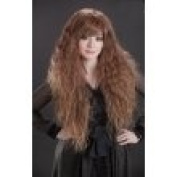 L-email 80cm Long Rhapsody in Brown Curly Wave Cosplay Party Wig C38