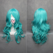 70cm Curly Wavy Green Cosplay Wig -- Sailor Moon Neptune