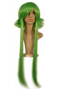 NEW fashion HOT sexy supper Long Green Straight Anime cosplay wigs party Masquerade girls wear 100CM