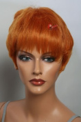 Epic Cosplay Aether Autumn Orange Short Anime Wig 30cm