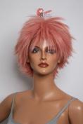 Epic Cosplay Apollo Princess Dark Pink Short Wig 33cm