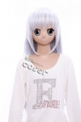 CosplayerWorld Kore wa Zombie Desu ka. Eucliwood Hellscythe 75cm 30inch Cosplay Wig Fashion Girls and Boys Anime Wig Party Wigs Shipping Free