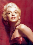 30cm short gold Marilyn Monroe sexy curly fashion wig SYN03