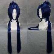 60cm Straight Mixed Blue Cosplay Wig -- Hitman Reborn Mukuro Rokudo