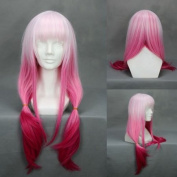70cm Gradient Light Pink to Fushia Cosplay Wig -- Guilty Crown Yuzuriha Inori