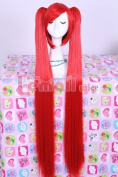 Lemail wig Women's Colourful Red long straight Cosplay wigs