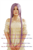NEW fashion HOT sexy Long Lavender Straight Anime cosplay wigs party Masquerade girls 80CM