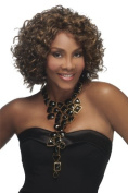 Vivica Fox - OPRAH-2 - Synthetic Pure Stretch Cap Wig -30cm MIXED SPIRAL CURL - # 30 Auburn