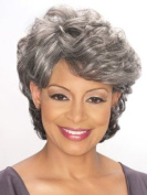 Foxy Silver Synthetic Wig - Emily