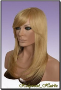Hollywood_hair4u - Long Layered Blond and Warm Brown Wig Heat Resistant Synthetic Fibre Skin Top *NEW*