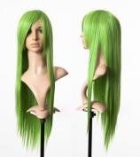 Cosplayland C064 - 80cm fresh grass Green Code Geass C.C Lelouch straight long heat-resistant Wig
