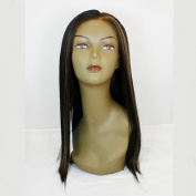 APLUS Ozone Lace Front Wig 009AM - Colour #1B. Black/ Medium Brown Red