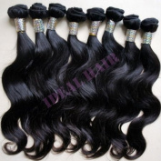 Rihanna style 70cm #1B Chinese Remy Hair Yaki Straight Full Lace Wig