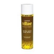 LAMAUR Vita-e Unscented Ultra Hold Hair Spray with Vitamin E