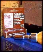 Father's Moustache Wax Neutral. Neutral Shade For All Colour Hair. Leak Proof Tube For Pocket Convenience