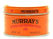 Murrays Superior Hair Pomade 90ml (3-Pack) with Free Nail File