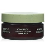 Simply Organic Wax Pomade Hard Wax, 45ml
