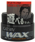 Gatsby Wax Mat Type Hair Styling Wax 80ml