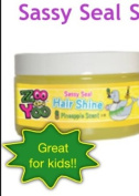 Zoo On Yoo Sassy Seal Kid's Hair Shine Gel - Pineapple 90ml