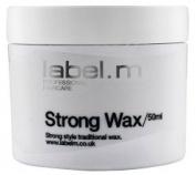 Label. M Strong Wax - 50ml