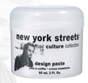 New York Streets Hair Culture Collection Design Paste