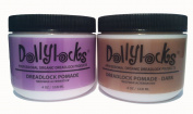 "Dollylocks 120ml Dreadlock ""Beeswax Alternative"" Pomade - Light"