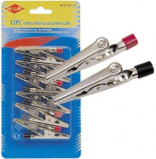 SE 8019AC12 12-Piece Alligator Clip
