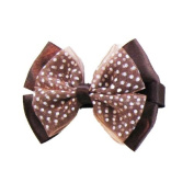 Brown Butterfly Bow Clip, Beautiful Gifts for Girls