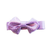 Purple Baby Bow Clip, Beautiful Gifts for Girls