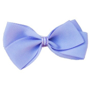 Purple Bowtie Ribbon Clip, Beautiful Gifts for Girls