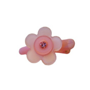 Moon Clip with. Crystals - 5-petal, Adorable Gifts for Girls