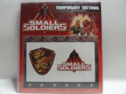Small Soldiers Temporary Tattoos - 2 Different Tattoos