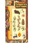 Stone Age Temporary Tattoos