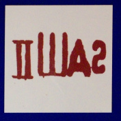 Saw III Bumper Temporary Tattoo