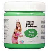 Ammonia Free Liquid Latex Body Paint - 120ml Neon Green