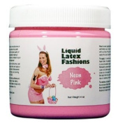 Ammonia Free Liquid Latex Body Paint - 120ml Neon Pink