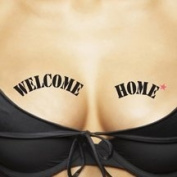 ta-ta-too's Temporary Tattoos For Your Ta-Tas, Welcome Home / Lucky You