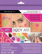 Duncan Crafts Tulip Body Art Glitter Tattoo Kit Neon