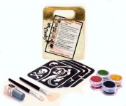 Glitter Temporary Tattoo FUN KIT 12 Tattoos -BOLD - Water Proof Do It Yourself!