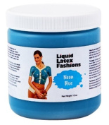 Ammonia Free Liquid Latex Body Paint - 950ml Neon Blue