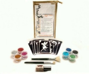 Glitter Temporary Tattoo Party Kit 30 Tattoos - Water Proof Do It Yourself!
