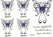 Yimei 2012 Latest Design Temporary Tattoo Stickers for Sweethearts Water-sweat-proof