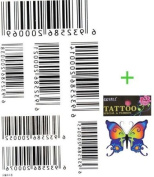 King Horse Tattoo sticker waterproof and sweat of men and women fashion sexy tattoo bar codes