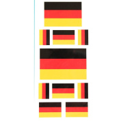 LW Temporary tattoos Germany flag