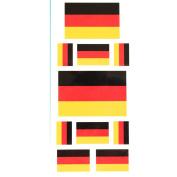 LW Temporary tattoos Germany flag