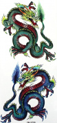 GGSELL Dragon temporary tattoos for men
