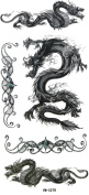 GGSELL YiMei Chinese totem Cool dragon waterproof tattoo stickers
